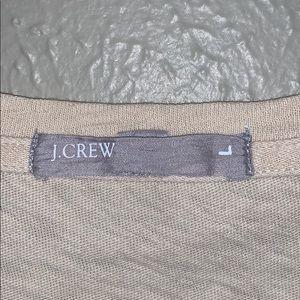 J. Crew Tops - JCrew T-shirt cream Size L
